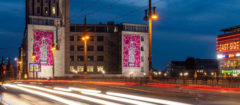 Absolut zmagovalna kreativa v živo v Berlinu