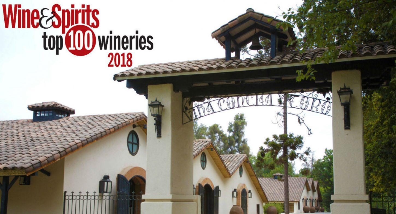 Concha y Toro spet na seznamu Top 100 vinskih kleti po izboru revije Wine and Spirits
