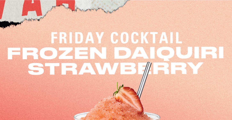 HAVANA CLUB: Frozen Strawberry Daiquiri