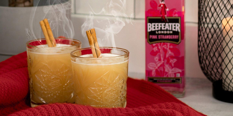 Vroči Beefeater koktajli za hladne jesenske in zimske dni