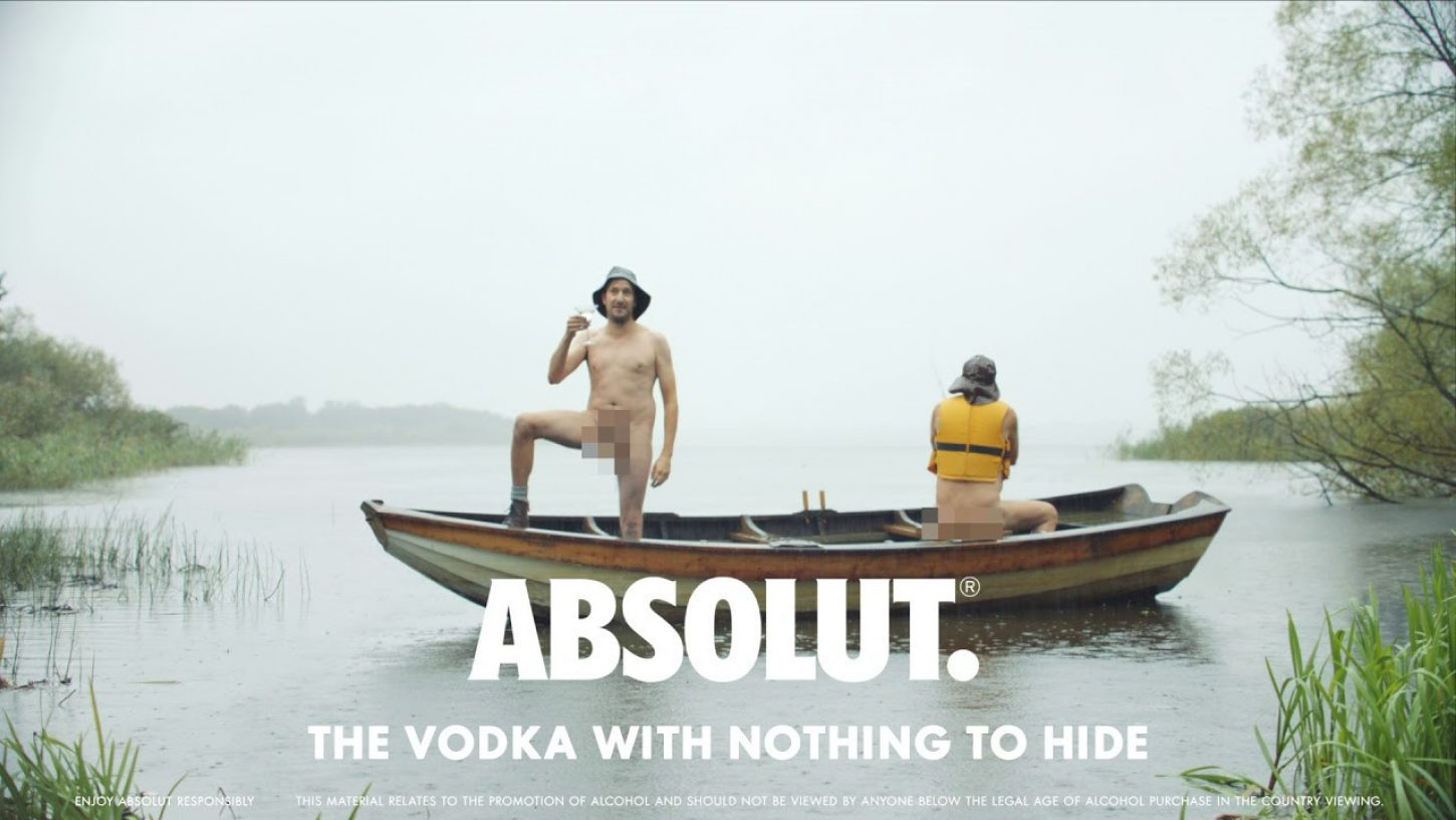 Vodka Absolut - vodka, ki ničesar ne skriva!